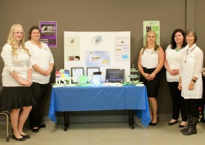 Image showing Team 4 and their display for ABT Web Comm Expo