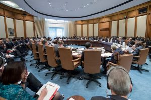 IMF African Consultative Group meeting around a large conference table