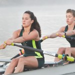 Girl-rowers