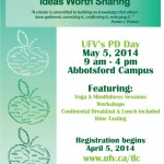 UFV-PD-Day-May-2014-poster