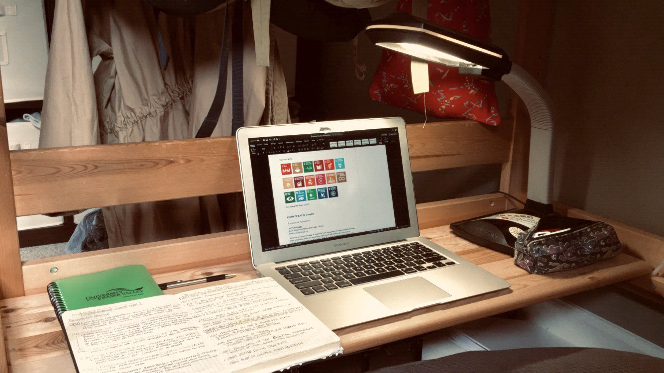 Students' workspace