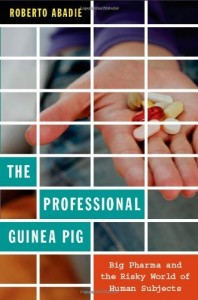 The Professional Guinea Pig book cover