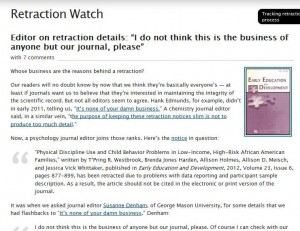 Retraction Watch screen capture