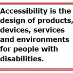 Accessibility definition