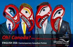 ENGL 356 - Contemporary Canadian Fiction