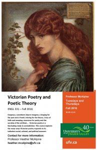 Victorian Poetry 331 McAlpine