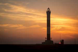 lighthouse-sunset