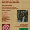 UFV Hosts 'Dalit Poetics and Politics'