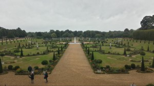 Huge Royal Gardens surrounding the Palace