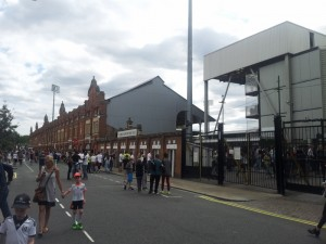 The Craven Cottage! Home stadium of the Fulham Football Club!