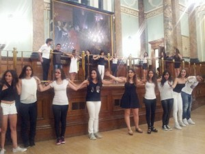 Finally, the large number of Cyprus students led us all in a traditional dance that ended the evening