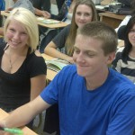 Langley Secondary Students at UFV presentation
