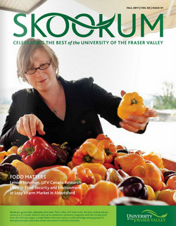 Skookum Magazine - University of the Fraser Valley