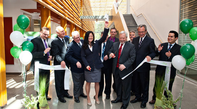 CEP new building ribbon cutting ceremony