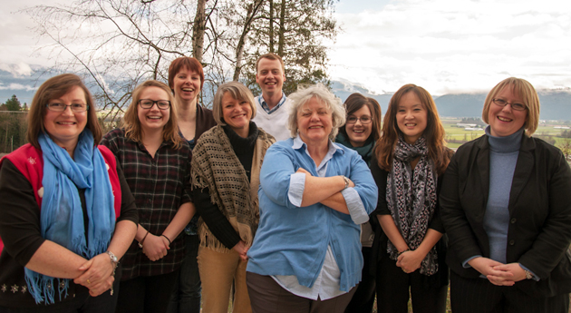 UFV University Advancement team
