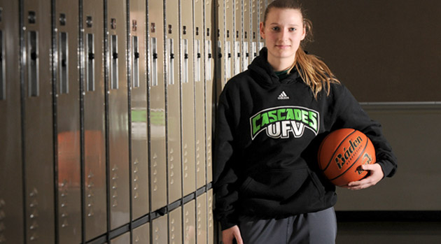 KMcD, Kaitlyn McDonald, GW Graham basketball, UFV basketball