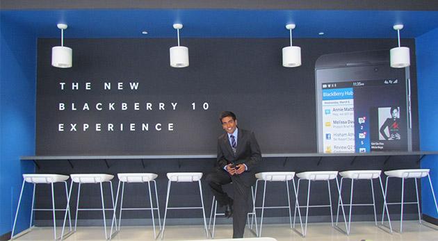 Richard Nair at BlackBerry