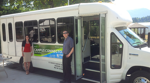 UFV Campus Connector Shuttle Bus