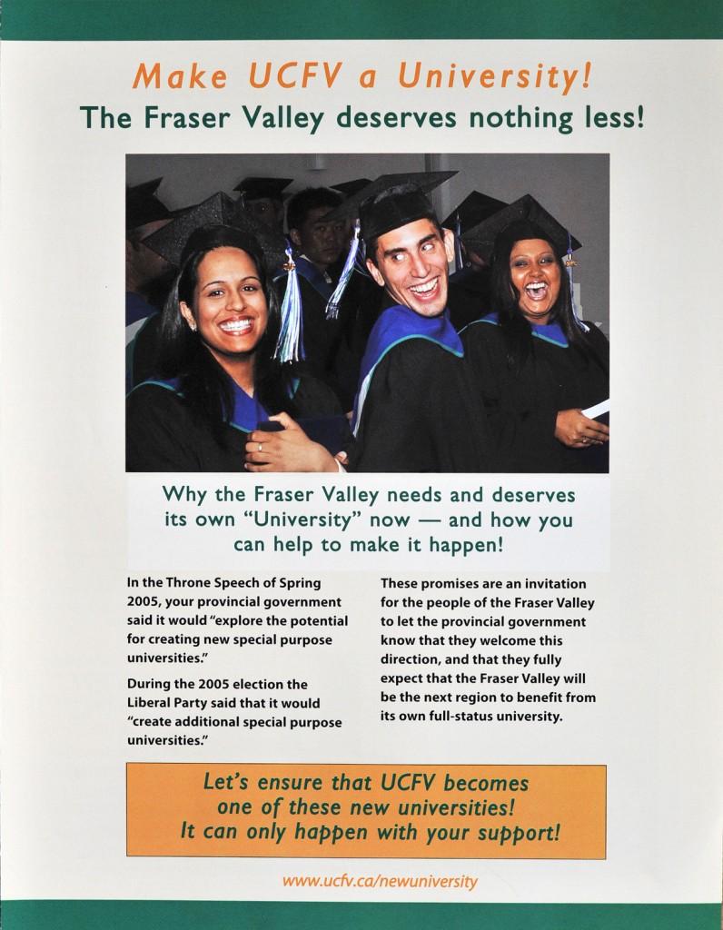 Make UCFV a Univ - Oct. 2005.jpg