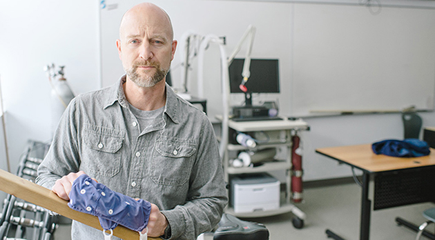 Dr. Michael Gaetz, 2014 Research Excellence winner