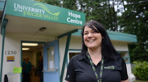 Hope Centre coordinator Michelle Vandepol