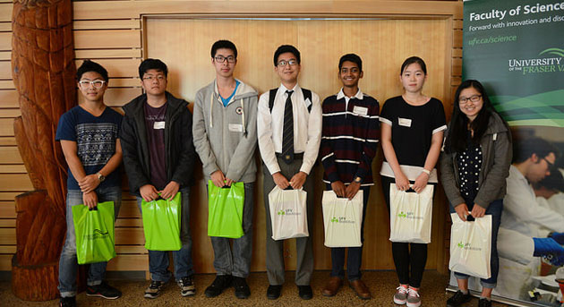 Math Contest winners 2015