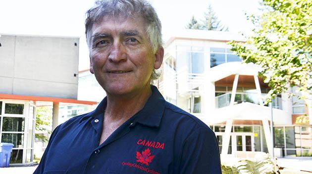 Roger Friesen outside -- blog