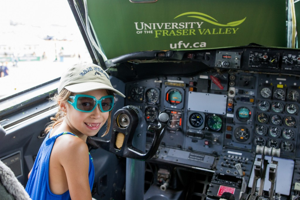 UFV's 727 photo booth fueled dreams of flight