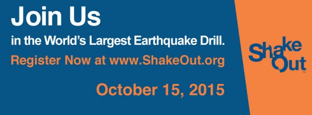 ShakeOut BC - Oct. 15