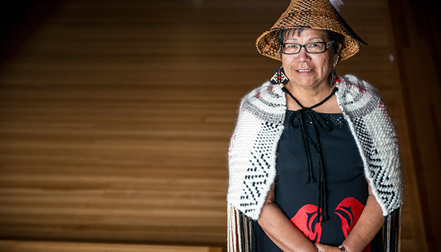 Elaine Malloway of the Indigenous Student Centre has been named hereditary chief of Yakweakwioose First Nation.