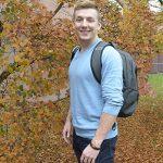 Ch'nook Scholar and business student Keenan Beavis.