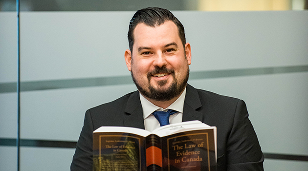 Ben Meyer, UFV paralegal student