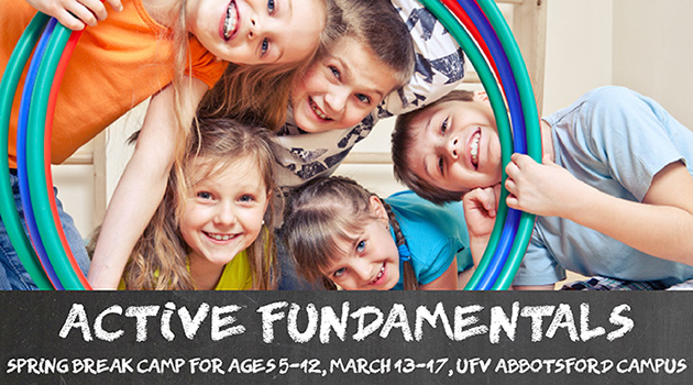 UFV offers spring break camps to keep kids active