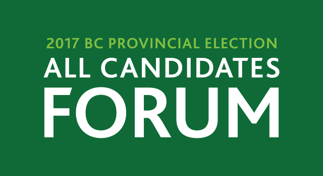 UFV to host two provincial election all candidates debates