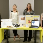 Image showing Team 1 and their display for ABT Web Comm Expo