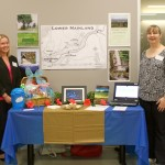 Image showing Team 3 and their display for ABT Web Comm Expo