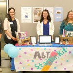 Image showing Team 5 and their display for ABT Web Comm Expo