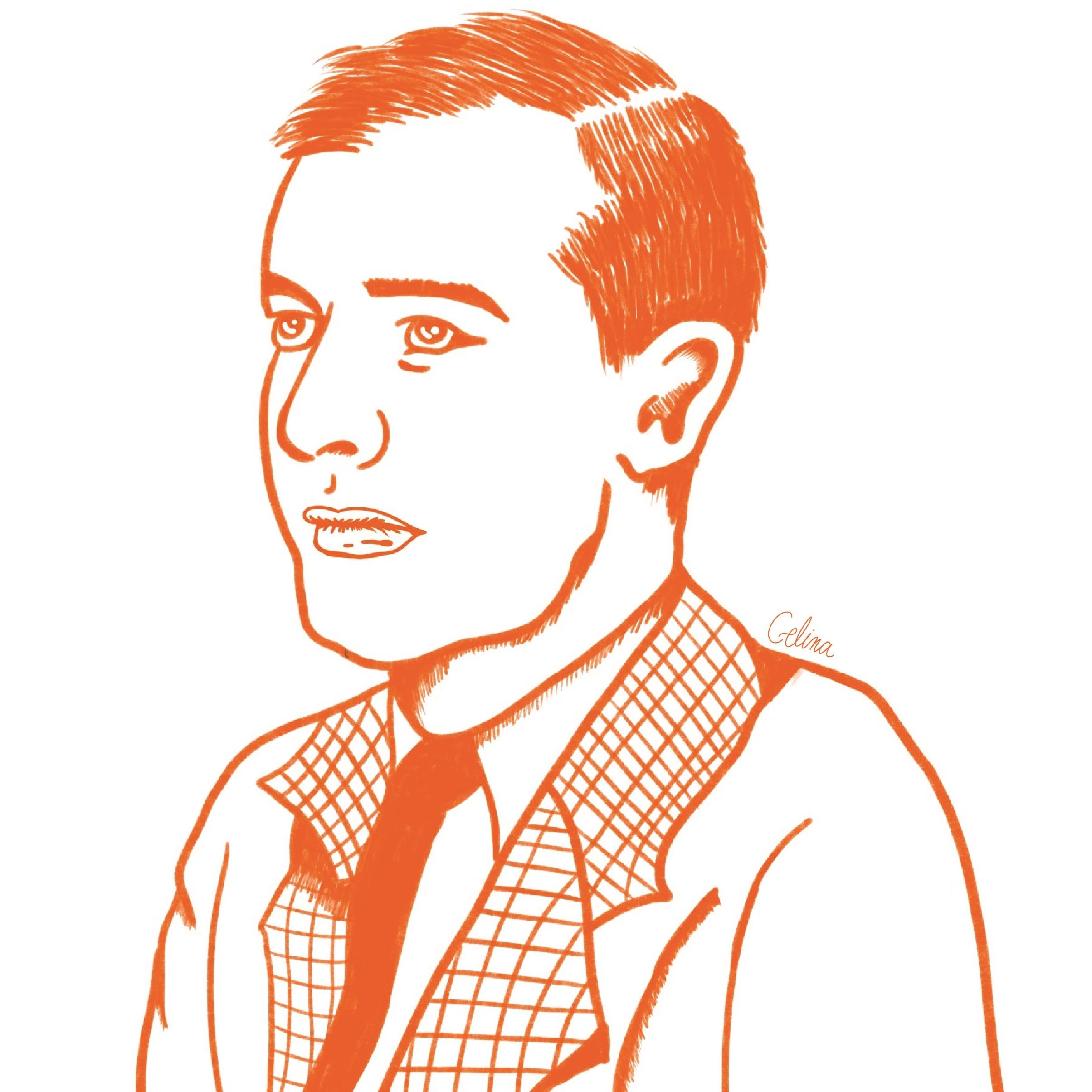 Illustration of Raoul Wallenberg