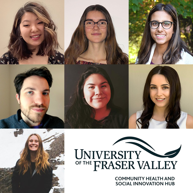 Thumbnail showing a collage of headshots of CHASI's 7 interns and research assistants.