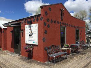 Higher Grounds Coffee Shop; Pine Ridge, SD