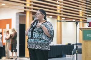 Shirley Hardman speaking