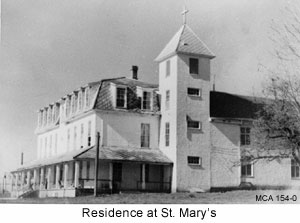 St Marys Residential school Mission