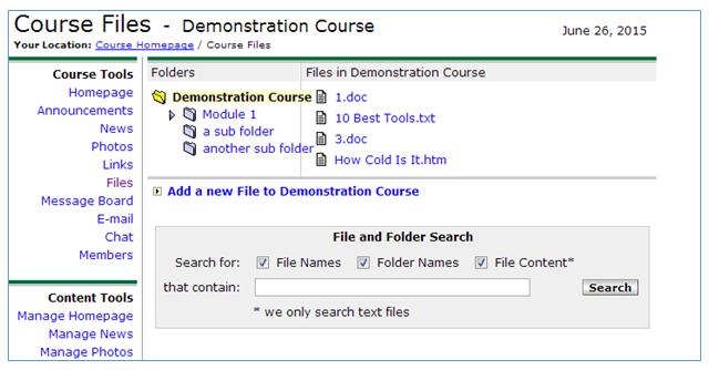 myufv Change in myUFV Course Tools | Information Technology Services