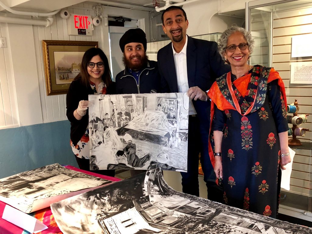 Desis in the Diaspora Opens at the Sikh Heritage Museum