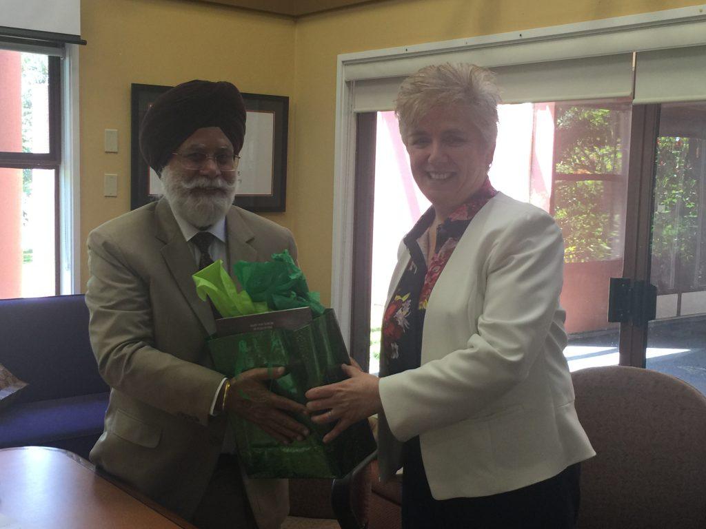 Vice-Chancellor Punjabi University Patiala Visits the SASI