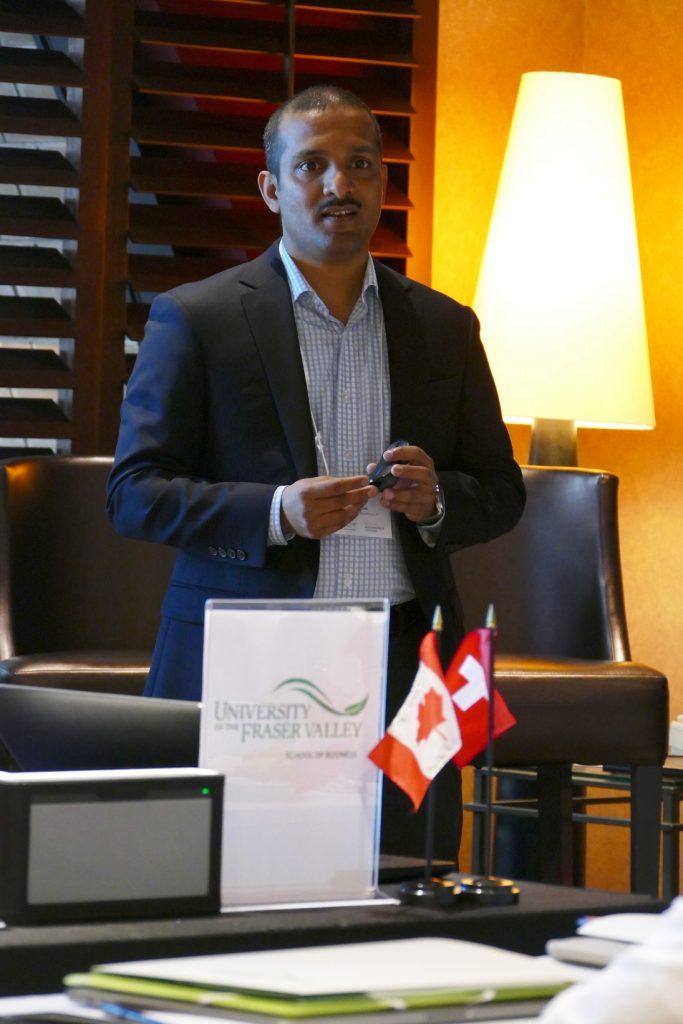 BC Regional Innovation Chair Dr. Jon Thomas Lucerne Talk