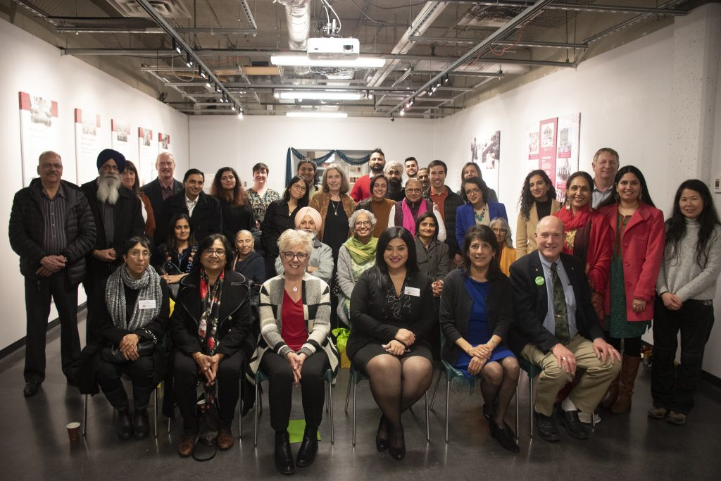 Haq and History Reception at UFV's S'eliyemetaxwtexw Gallery
