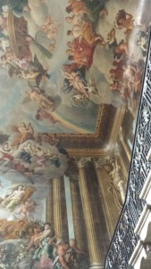 Amazing paintings and tapestries covered the walls. Incredible amount of luxury here.