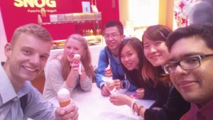 """We had all chosen to attend """"Phantom"""", and went out for frozen yogurt afterwards."""