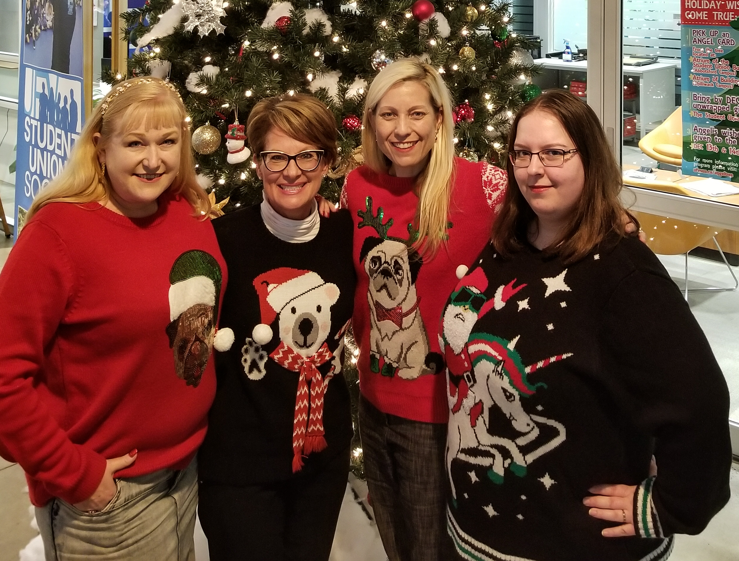 Holiday Sweater Day!